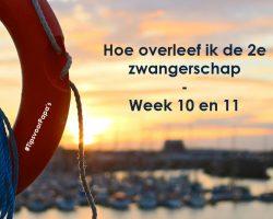 Hoe overleef ik de 2e zwangerschap – week 10 en 11
